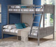 Louver Bunk Bed Twin over Full   Donco Trading   DT2012TFAG
