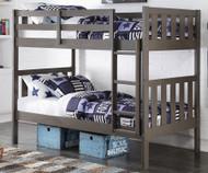 Slate Bunk Bed | Donco Trading | DT4300TTSG
