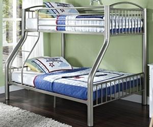 Donco Metal Twin Over Full Bunk Bed Kids And Teens Bedroom