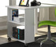 Donco Low Loft Bed with Desk and Storage Twin Size White | Donco Trading | DT760W