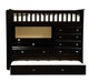 Espresso All-In-One Loft Bed   Discovery World Furniture   DWF-2903
