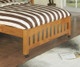 Ridgeline Honey Twin over Full Loft Bed | 25038 | DWF2105