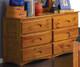 Ridgeline Double Dresser | Discovery World Furniture | DWF2150