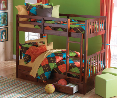 Acadia Mission Bunk Bed 1   Discovery World Furniture   DWF2810-