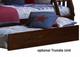 Merlot Twin over Full Stair Stepper Bunk Bed | Discovery World Furniture | DWF2814-FULL-CL