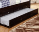 Espresso Captains Bed   Discovery World Furniture   DWF2935