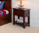 Jackpot Nightstand Cherry | Jackpot Kids Furniture | JACKPOT-714011-004