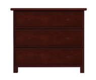 Jackpot 3 Drawer Dresser Cherry | Jackpot Kids Furniture | JACKPOT-714030-004