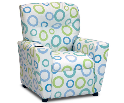 Kidz World Recliner Designer Fabric Spa Capri   Kidz World   KW1300-SPC