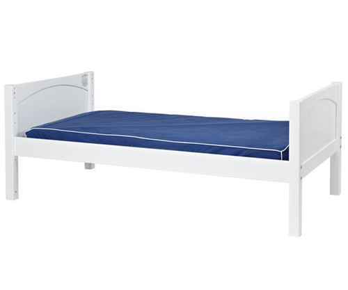 Maxtrix Twin Size Bed White 1 | Maxtrix Furniture | MX-1000-WP
