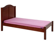 Maxtrix Twin Size Bed with Foot Panel Chestnut | Maxtrix Furniture | MX-1150-CC