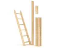 Maxtrix Components High Loft Leg Kit with Angle Ladder | Maxtrix Furniture | MX-1533-X