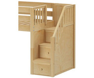 Maxtrix Components Low Loft with Stairs Conversion Kit | Maxtrix Furniture | MX-1730-LOW