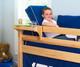 Maxtrix Bedside Tray Chestnut   Maxtrix Furniture   MX-2100-C