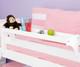Maxtrix Long Bedside Tray White | Maxtrix Furniture | MX-2105-W