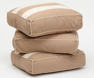 Maxtrix Back Pillows - Set of Three - Dark Khaki/Light Khaki | Maxtrix Furniture | MX-3740-040