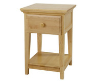 Maxtrix 1 Drawer Nightstand Natural | Maxtrix Furniture | MX-4210-N
