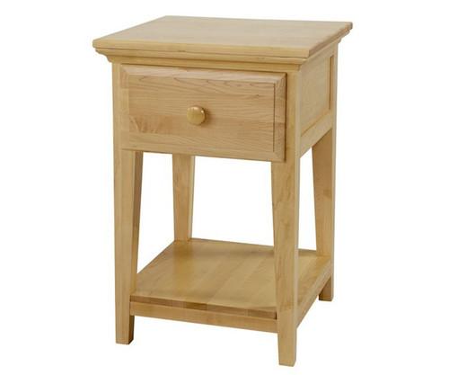 Maxtrix 1 Drawer Nightstand Natural | Maxtrix Furniture | MX-4210-N