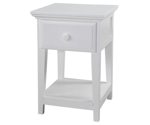 Maxtrix 1 Drawer Nightstand White | Maxtrix Furniture | MX-4210-W
