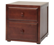 Maxtrix 2 Drawer Nightstand Chestnut | Maxtrix Furniture | MX-4220-C