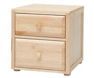 Maxtrix 2 Drawer Nightstand Natural | Maxtrix Furniture | MX-4220-N