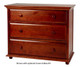 Maxtrix 3 Drawer Dresser Chestnut | Maxtrix Furniture | MX-4230-C