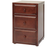Maxtrix 3 Drawer Nightstand Chestnut | Maxtrix Furniture | MX-4235-C