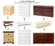 Maxtrix 4 Drawer Dresser Chestnut   Maxtrix Furniture   MX-4240-C