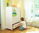 Maxtrix 5 Drawer Dresser White | Maxtrix Furniture | MX-4250-W