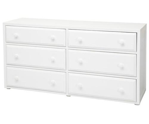 Maxtrix 6 Drawer Dresser White | Maxtrix Furniture | MX-4260-W
