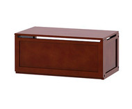 Maxtrix Stack-able Toy Chest Chestnut | Maxtrix Furniture | MX-4300-C