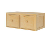 Maxtrix 2 Drawer Cube Unit Natural | Maxtrix Furniture | MX-4320-N