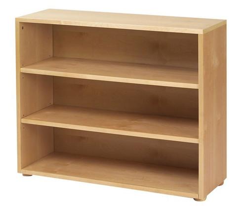 Maxtrix 3 Shelf Bookcase Natural | Maxtrix Furniture | MX-4720-N