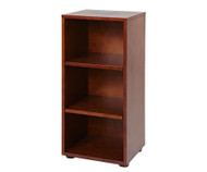 Maxtrix Narrow 3 Shelf Bookcase Chestnut | Maxtrix Furniture | MX-4725-C