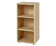 Maxtrix Narrow 3 Shelf Bookcase Natural | Maxtrix Furniture | MX-4725-N