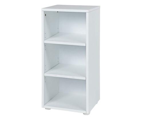 Maxtrix Narrow 3 Shelf Bookcase White | Maxtrix Furniture | MX-4725-W