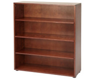 Maxtrix 4 Shelf Bookcase Chestnut | Maxtrix Furniture | MX-4740-C