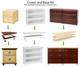 Maxtrix 5 Shelf Bookcase Chestnut | Maxtrix Furniture | MX-4750-C