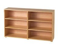 Maxtrix 6 Shelf Bookcase Natural | Maxtrix Furniture | MX-4760-N