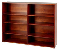 Maxtrix 8 Shelf Bookcase Chestnut | Maxtrix Furniture | MX-4780-C