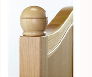 Maxtrix Bed Finials - Round | Maxtrix Furniture | MX-5000-X