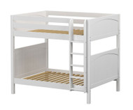 Maxtrix BUFF High Bunk Bed Full Size White | Maxtrix Furniture | MX-BUFF-WX