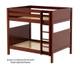 Maxtrix BUFF High Bunk Bed Full Size White | Maxtrix Furniture | MX-BUFF-WX