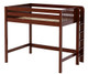 Maxtrix BULKY High Loft Bed Full Size Chestnut | Maxtrix Furniture | MX-BULKY-CX
