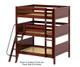 Maxtrix COMPLEX Triple Bunk Bed Full Size Chestnut   Maxtrix Furniture   MX-COMPLEX-CX