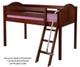 Maxtrix EASY RIDER Low Loft Bed Twin Size White | Maxtrix Furniture | MX-EASYRIDER-WX