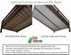 Maxtrix FANTASTIC Castle Low Loft Bed with Slide Full Size Chestnut 4 | Maxtrix Furniture | MX-FANTASTIC27-CX