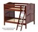 Maxtrix FAT Medium Bunk Bed Full Size Chestnut | 26280 | MX-FAT-CX
