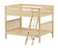 Maxtrix FAT Medium Bunk Bed Full Size Natural | Maxtrix Furniture | MX-FAT-NX