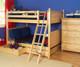 Maxtrix FAT Medium Bunk Bed Full Size Natural | Maxtrix Furniture | MX-FAT-NX